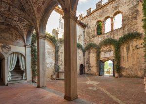 Open Space Inside The Castello Della Paneretta Winery