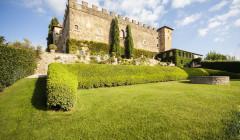Castle Styled Building Of The Castello Della Paneretta Winery