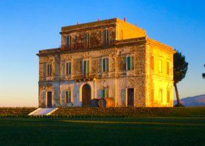 building of Castorani winery