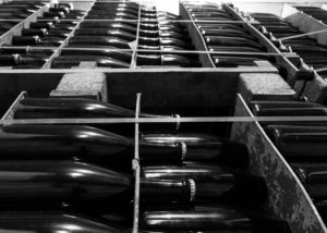 bottles of wine made in Celler Jordi Lluch inside boxes in Spain