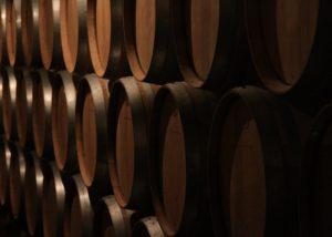 Barrels At Château La Tour De By Winery