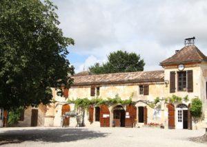 Building Of Château La Tour De By Winery