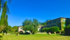 Buildings Of Col D'Orcia Winery