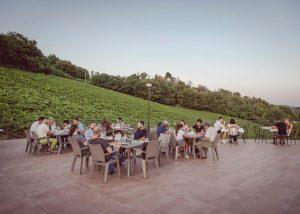 People Enjoying Wines At Conventino Montecoccardo Winery