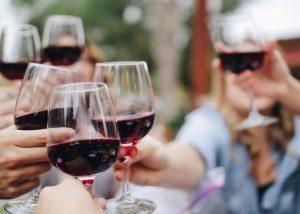 People Toasting Glasses Of Wine At Corte Aleardi Winery