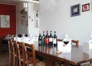 Tasting Area At Corte Lonardi Di Lonardi Silvia Winery