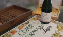 A Bottle Of Wine By Corte Sermana Winery