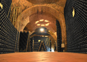 wine storage at d'arapri agricola