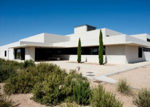 Dehesa De Luna winery building located in Spain
