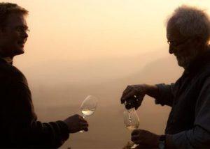 Owners Tasting Wine At Dienhart Weine Weingut Zur Römerkelter Winery