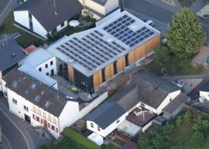 Aerial View Of The Winery Building Of The Dienhart Weine Weingut Zur Römerkelter Winery