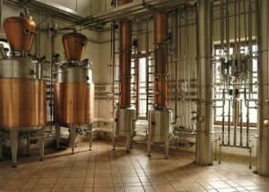 Steel Tanks of Distilleria Bosso