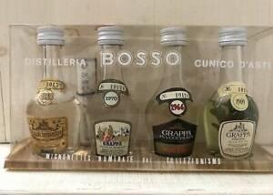 Vintage Bottles of Distilleria Bosso