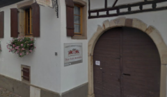 Entrance To Domaine Jean-Louis Schoepfer Winery