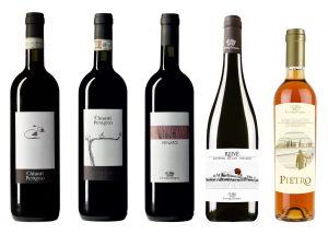 Vineyard Of The Fattoria Petriolo Winery