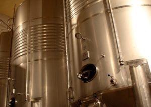 fernandez de arcaya steel cicterns for wine production in the winery