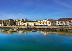 gutierrez colosia beautiful city near winery on sea shore in spain