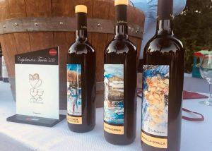 Three Bottles Of Wine By La Bellanottw Winery