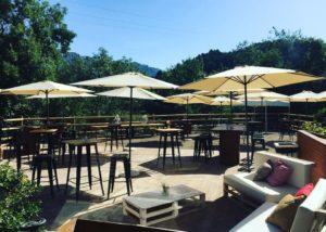 Tasting Area Of The La Conreria D'Scala Dei Winery