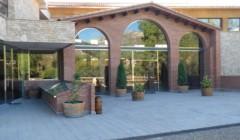 The Entrance Area At The La Conreria D'Scala Dei Winery