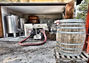 A Barrel At La Masera Winery