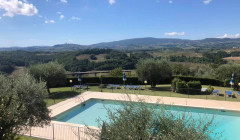 Pool At La Roccaia Winery