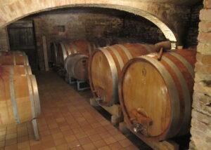 Barrels Inside The Le Cecche Winery
