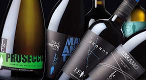 wine bottles of le rive