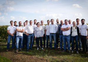 Team At Les Caves De La Loire Winery
