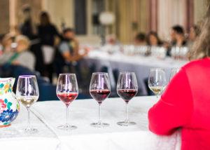 Glasses Of Wine At Marina Danieli Estate Winery