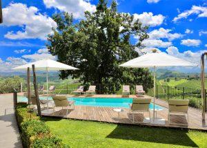 Pool Around Michele Chiarlo Winery