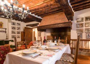 Tasting Room Of Monteraponi Winery