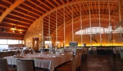 Neatly Arranged Tasting Area At Pago Del Vicario Winery