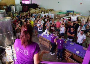 people at Bodegas Gratias. Familia y Viñedos winery in Spain