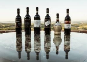 different varities of wines by Pietraserena