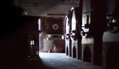 Cellar Of Pomona Winery in Chianti, Tuscany, Italy