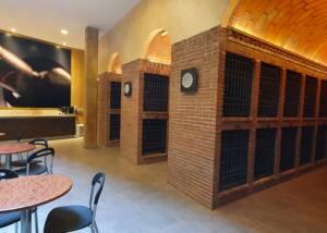 Tasting room of La Conreria d'Scala Dei