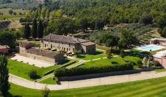 Aerial View Of San Ferdinando Winery