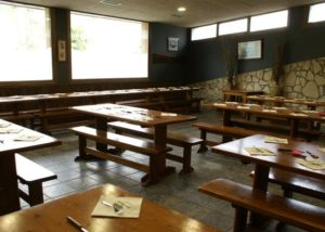 Tasting Area At Sidras Bereziartua Winery