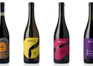 Four Bottles Of Wine By Tenuta Bastonaca Winery