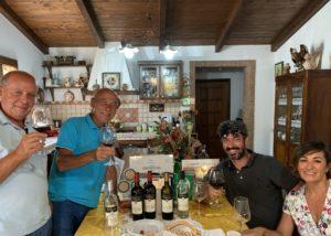 People Tasting Wines At Tenuta Celimarro Winery