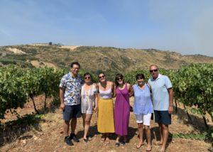 Visitors At The Tenuta Celimarro Winery