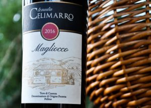 Wine Bottle Of The Tenuta Celimarro Winery