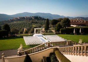 Building Of Tenuta Di Artimino Winery