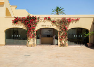 entrance of tenuta gorghi tondi winery