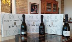 Three Bottles Of Wines By Toni Doro Winery