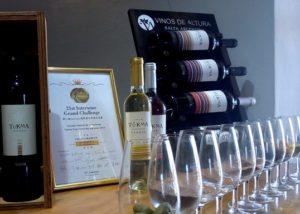 tukma five bottles of stunning wines and glasses ready for tasting