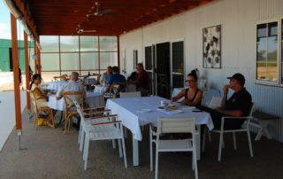 People Tasting Wine At Ulupna Winery