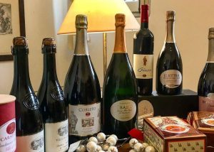 Various Wines By Villa Di Corlo Winery