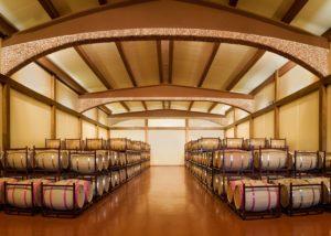Viñedos y Bodegas Asensio Carcelén winery cellar in Spain